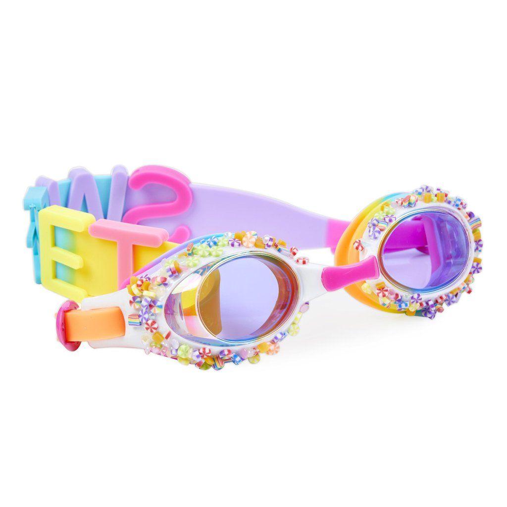free goggles Latex swim
