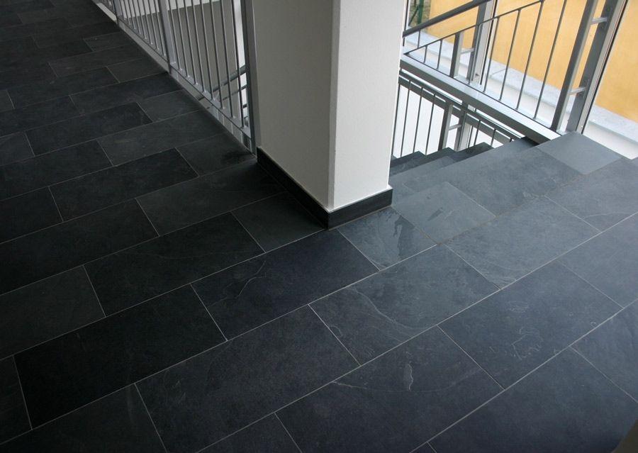 Kitchen Slate Tile W Dark Grout Kitchen Flooring Flooring