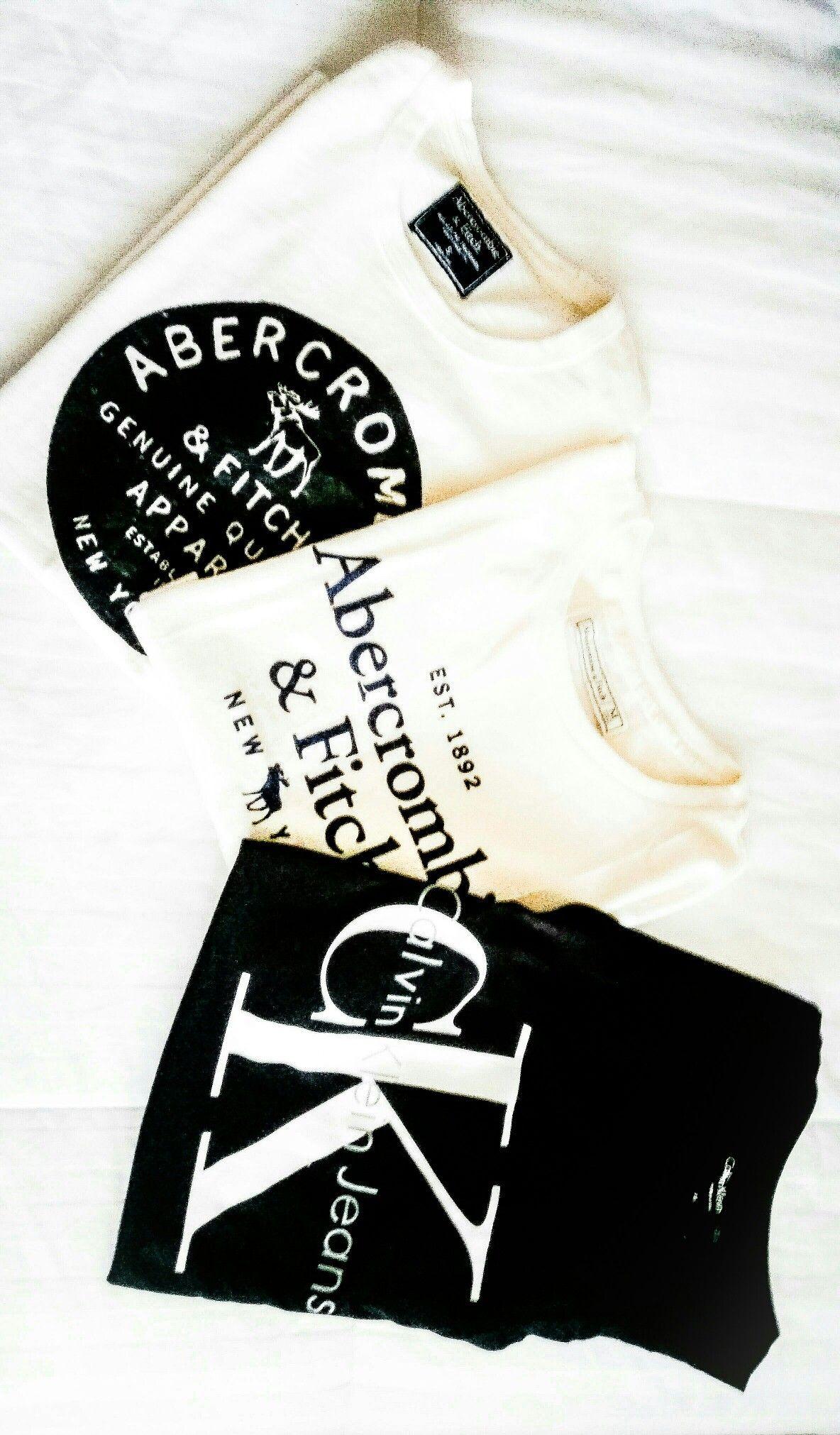 Abercrombie & Fitch / Calvin Klein  ___minimalist wardrobe___