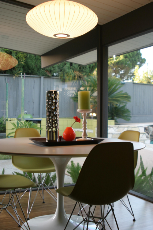 knoll eames chair. Eames Chairs, Knoll Table \u0026 Nelson Light In Fab Eichler Chair C