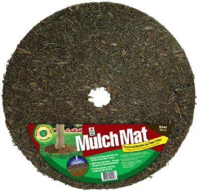 Easy Gardener Tr24912 30 Rubber Mulch Tree Ring 24 In