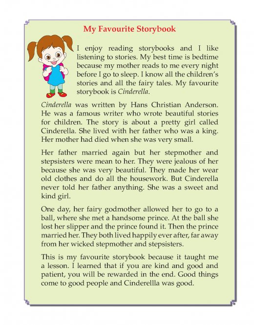 3rd Grade Descriptive Essay My Favourite Storybook Sample English Storie For Kid Writing Skill Skills Favorite Teacher Essays 10 Line In Clas 7 Hindi
