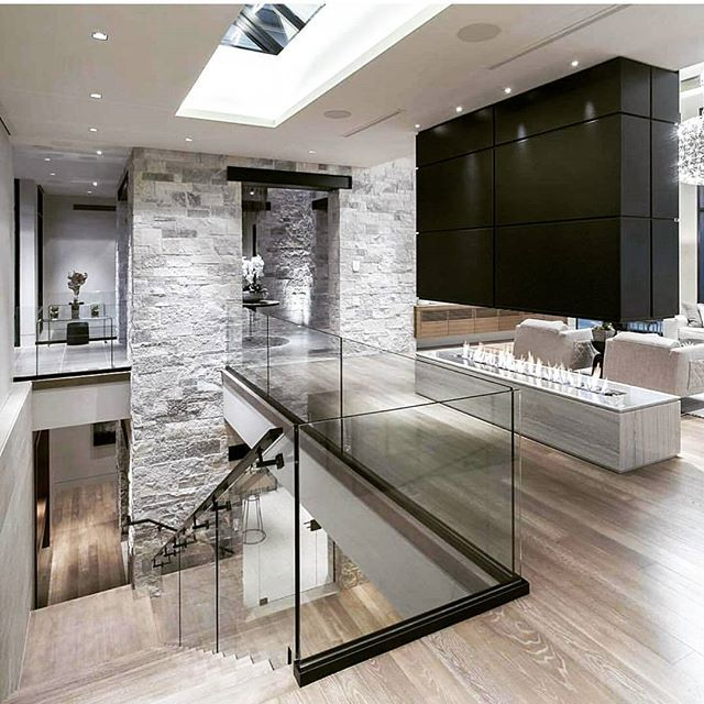 Light coloured floors are growing on me. | Modern houses ...