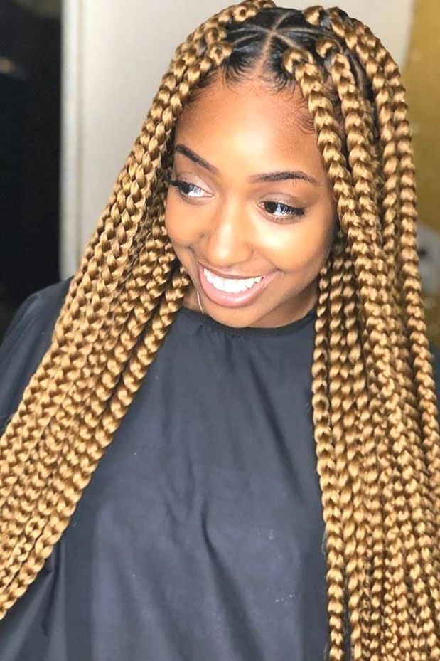 Latest Awesome Ghana Braids Hairstyles #ghanaBraided # fulani Braids with curls