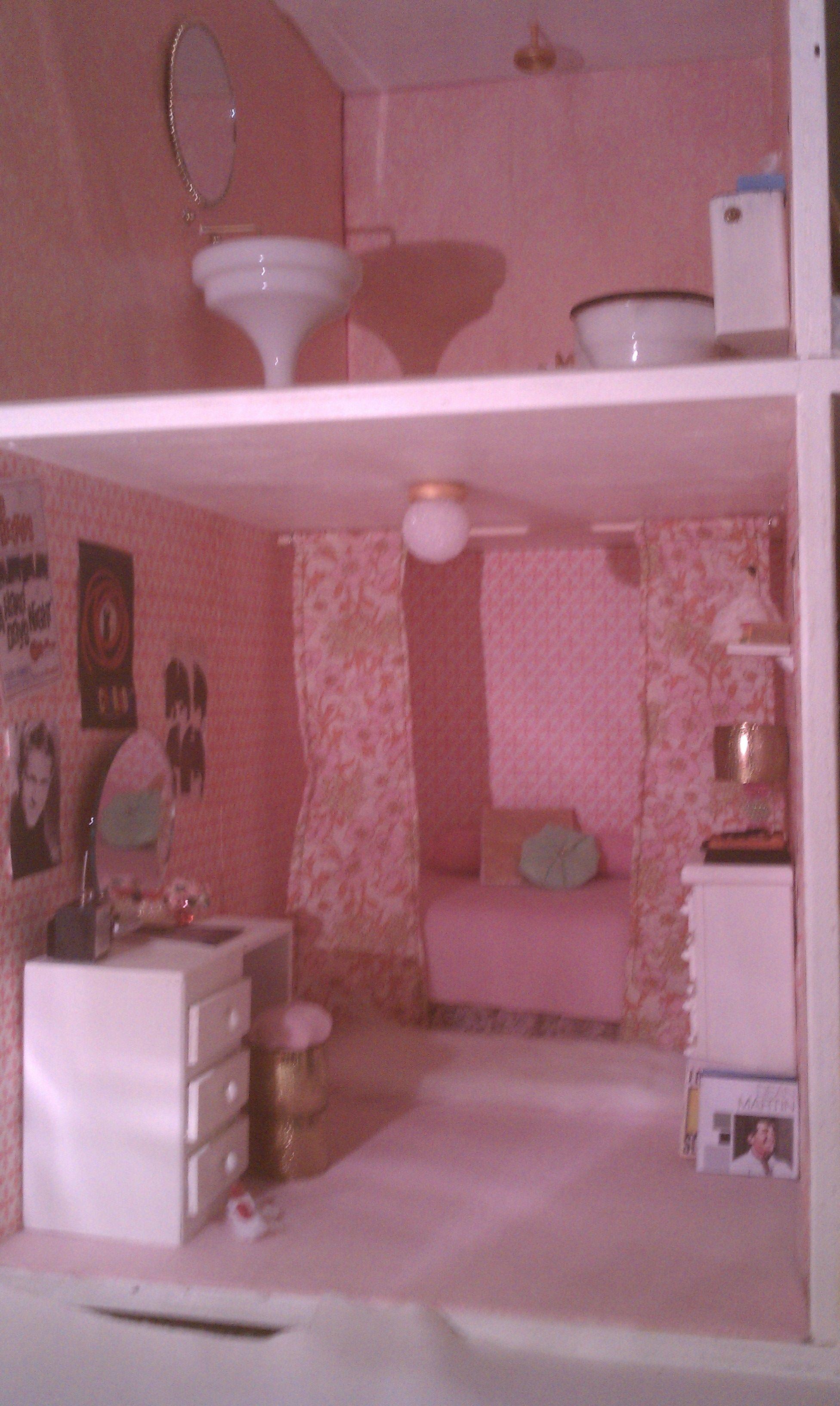 Custom 1960S Mid Century Modern Style 16 Scale Dollhouse From How