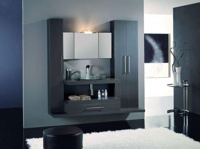 Gabinetes modernos para tu ba o banos tk pinterest - Muebles bano moderno ...