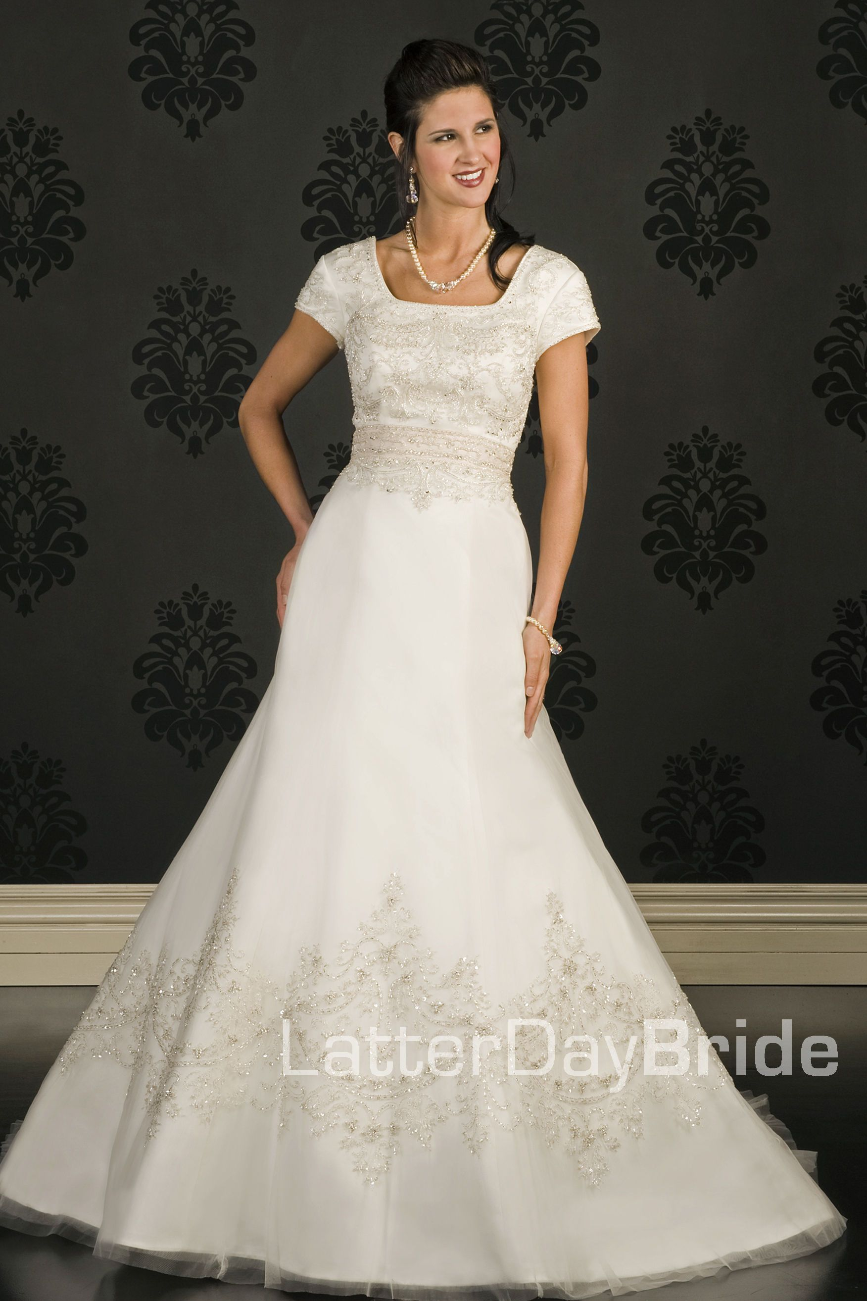 Modest Wedding Dress Perretti