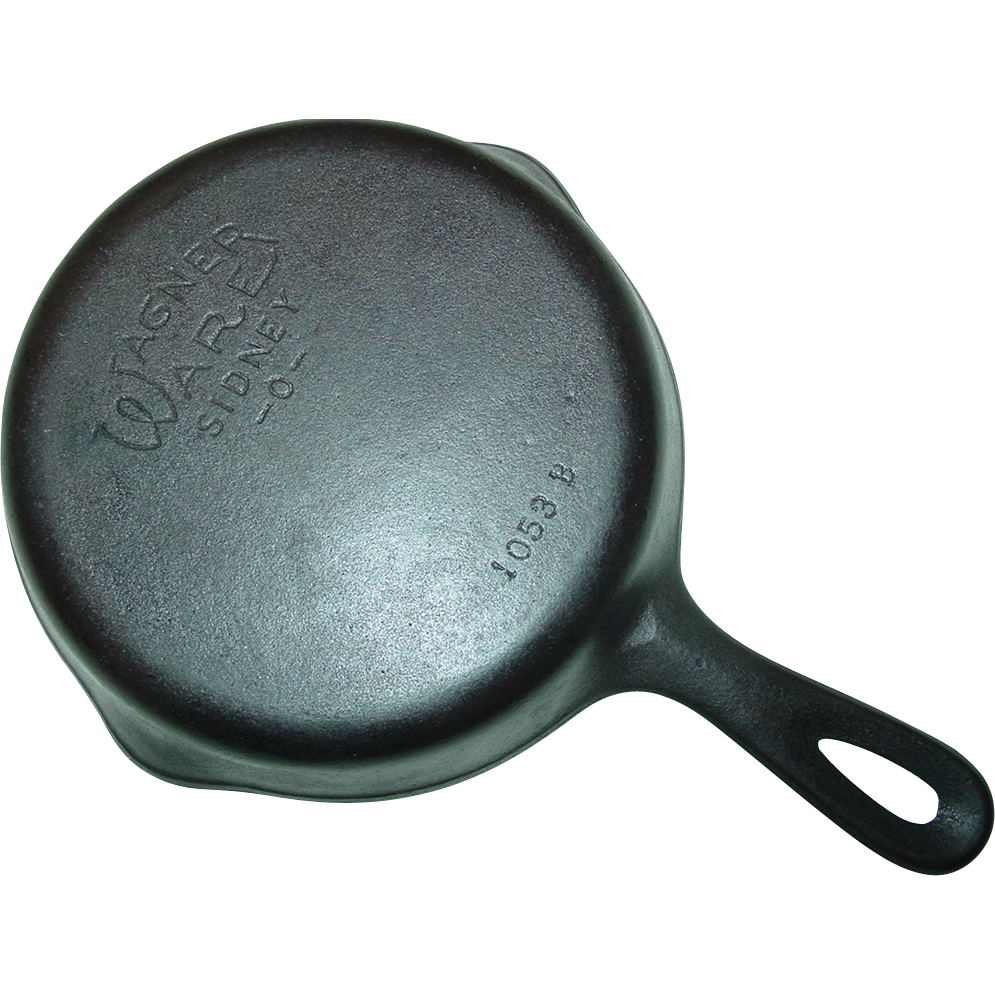 Wagner Ware Sidney -O- No. 3 Cast Iron Skillet 1053 B Smooth ...
