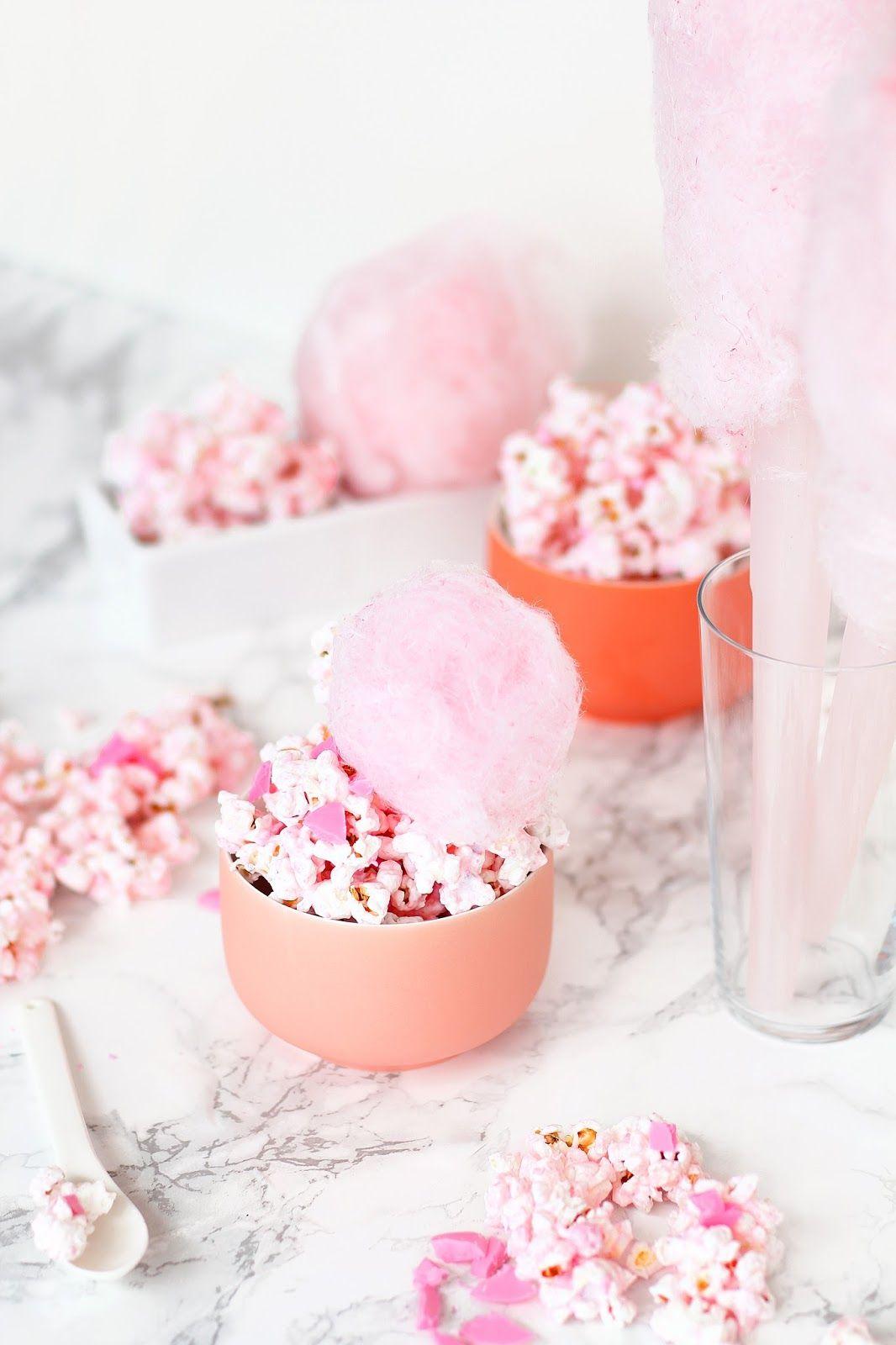 Cotton Candy Popcorn Candy popcorn, Cotton candy recipe