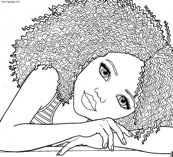afroamerikaner mädchen malvorlagen pdf free printable