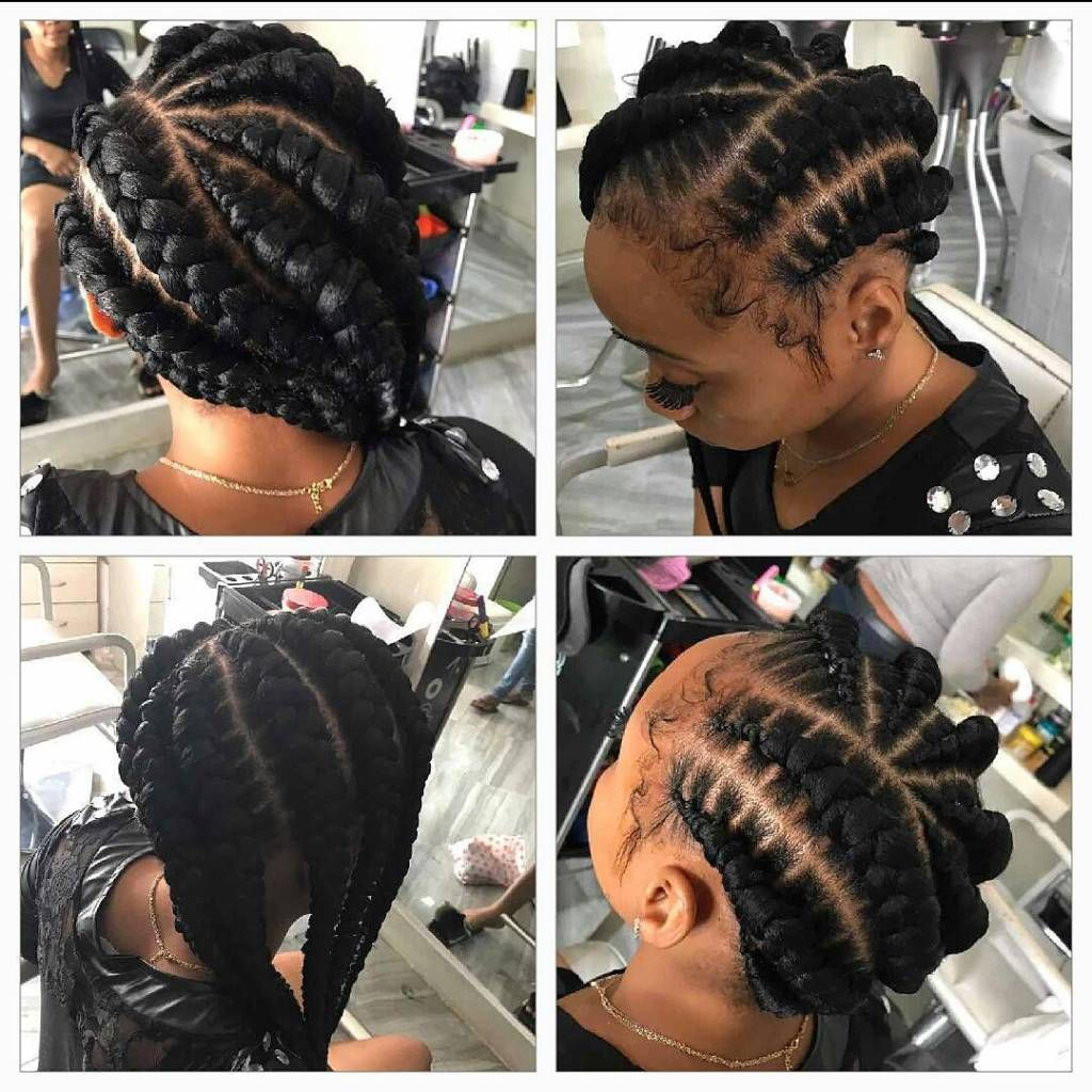 Best Ghana Braids Hairstyles Collection Ghana Braids Hairstyles Are Identified By A Sever Box Braids Hairstyles For Black Women Braided Hairstyles Hair Styles