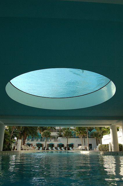 upper pool with glass bottom travel pinterest. Black Bedroom Furniture Sets. Home Design Ideas