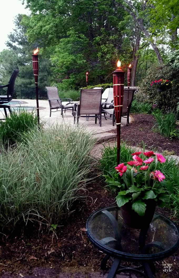 Outdoor Seating Ideas For Entertaining Part - 41: Outdoor Entertaining Ideas By In My Own Style
