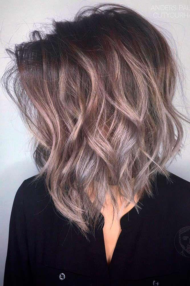 18 Medium Length Hairstyles For Thick Hair Rock That Hair Girl