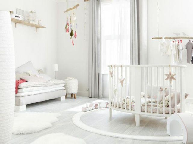 Chambre Blanche Pour Bebe | Chambre Bébé | Pinterest | Chambre