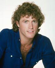 Andy Gibb in denim shirt 8X10 Photo