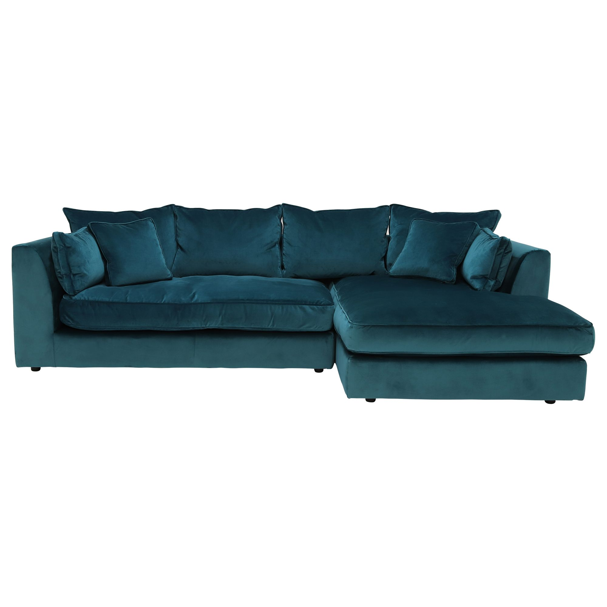 Prime Harrington Small Chaise Velvet Sofa Rhf Barker Onthecornerstone Fun Painted Chair Ideas Images Onthecornerstoneorg