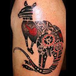 Kangaroo Tattoo Meanings | iTattooDesigns.com
