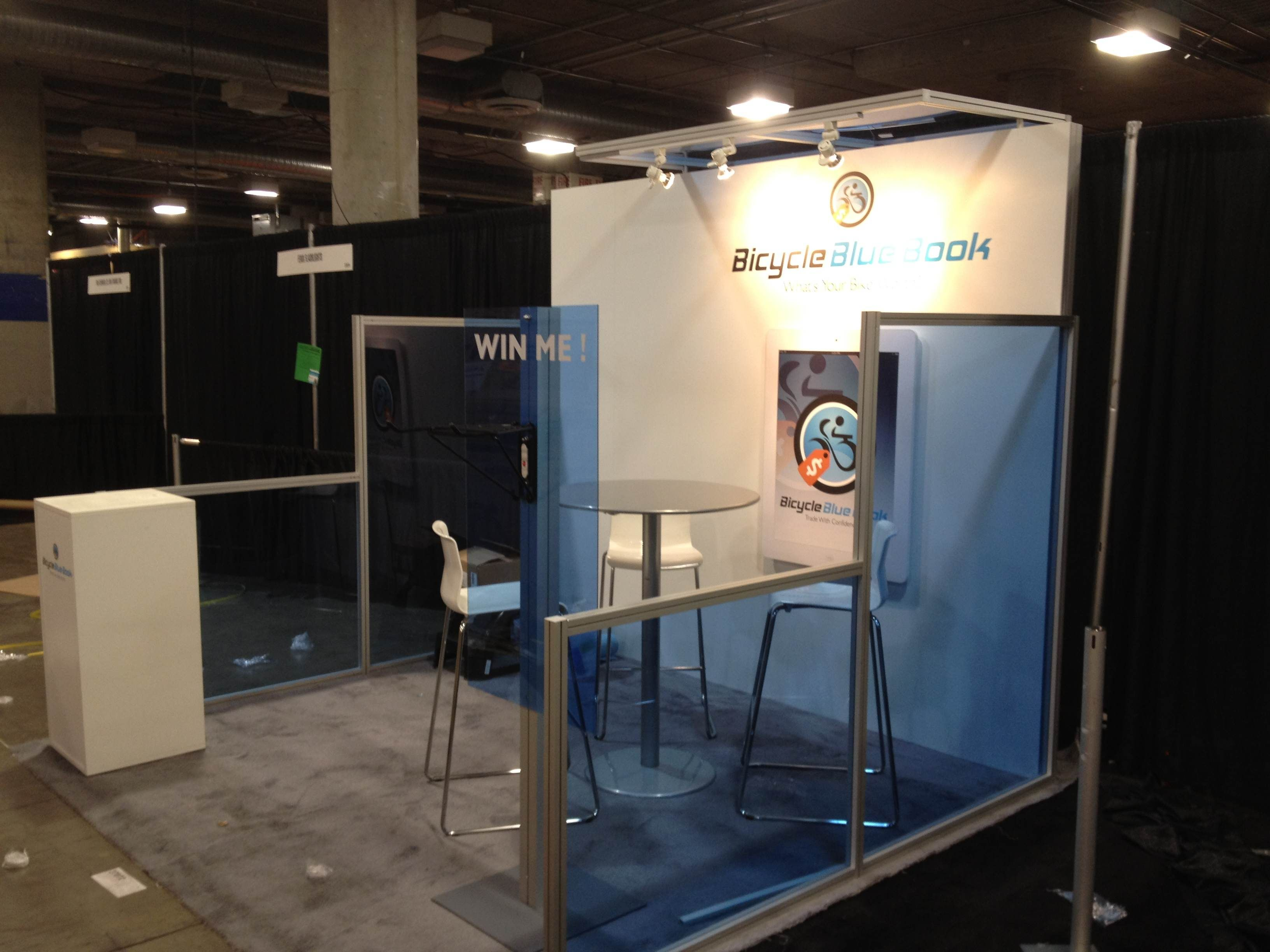 Trade show booth plexiglass trade shows ceremonies for Stand modulaire