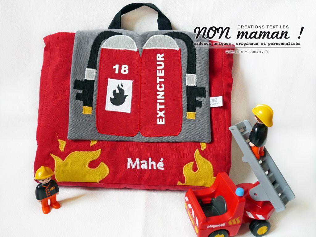pas mal 5bdcc cac86 Le cartable d'un futur petit pompier Pour sa première ...
