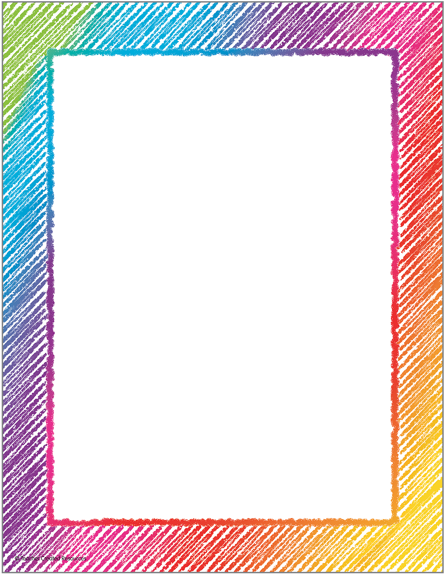 Colorful Scribble Computer Paper 8 1 2 X 11 Paper Coordinates With Your Favorite Designs 5 Colorful Borders Design Page Borders Design Frame Border Design