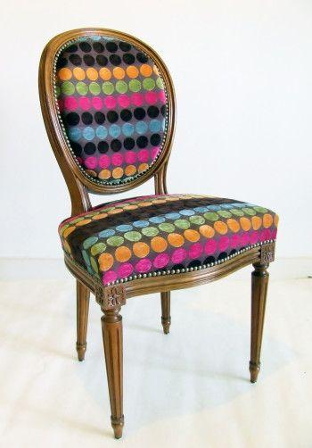 Chaise en médaillon style Louis XVI | Projets à essayer | Pinterest on