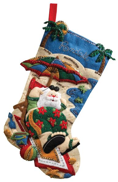 Brian's Christmas stocking is on the verge of completion!