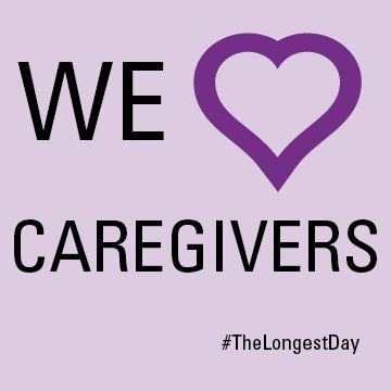 Caregivers are some of the most amazing people we know. Today is #TheLongestDay and we're honoring their hard work. www.thelongestday.alz.org