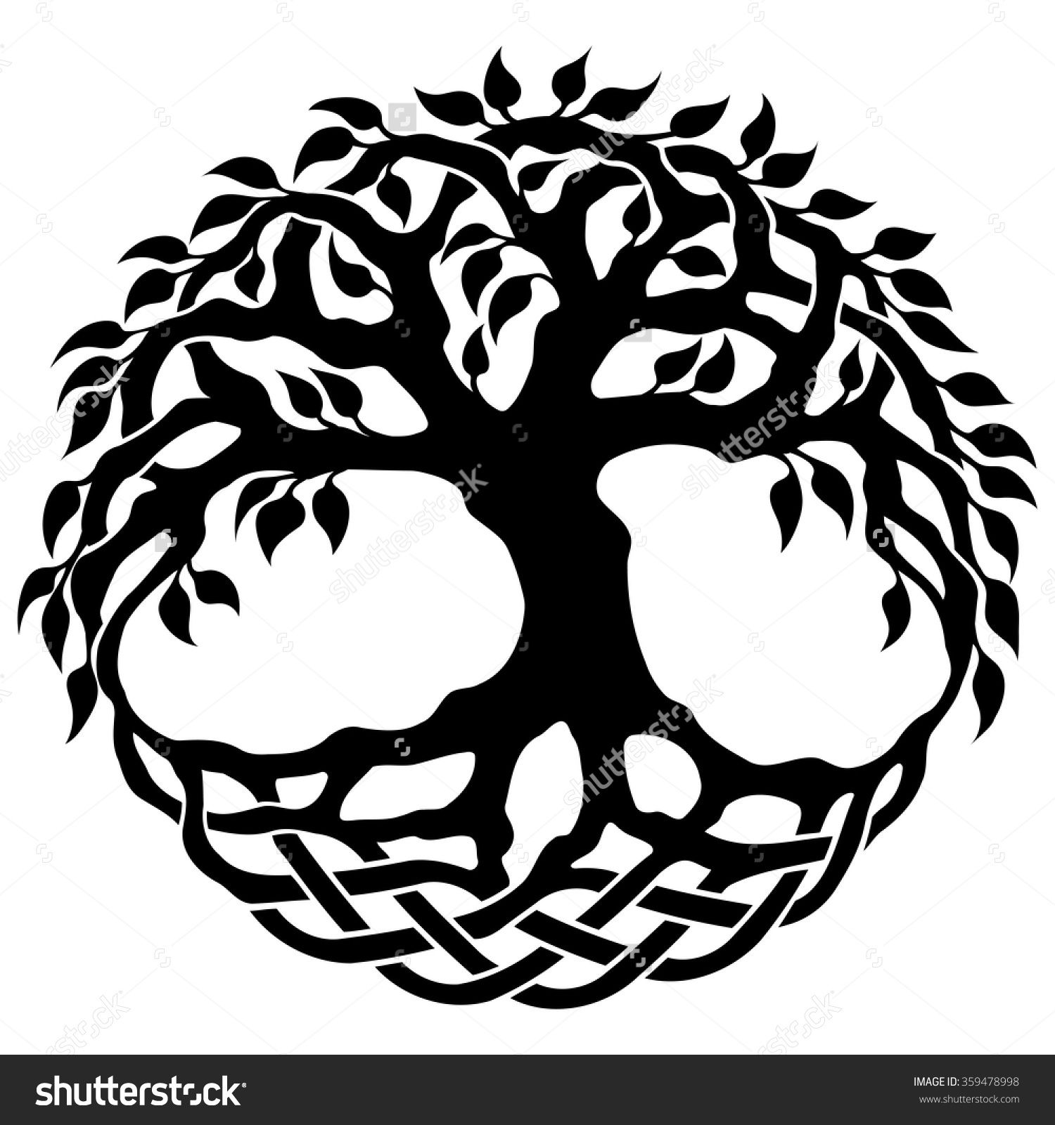 Celtic tree of life clipart ClipartFest Tree of life