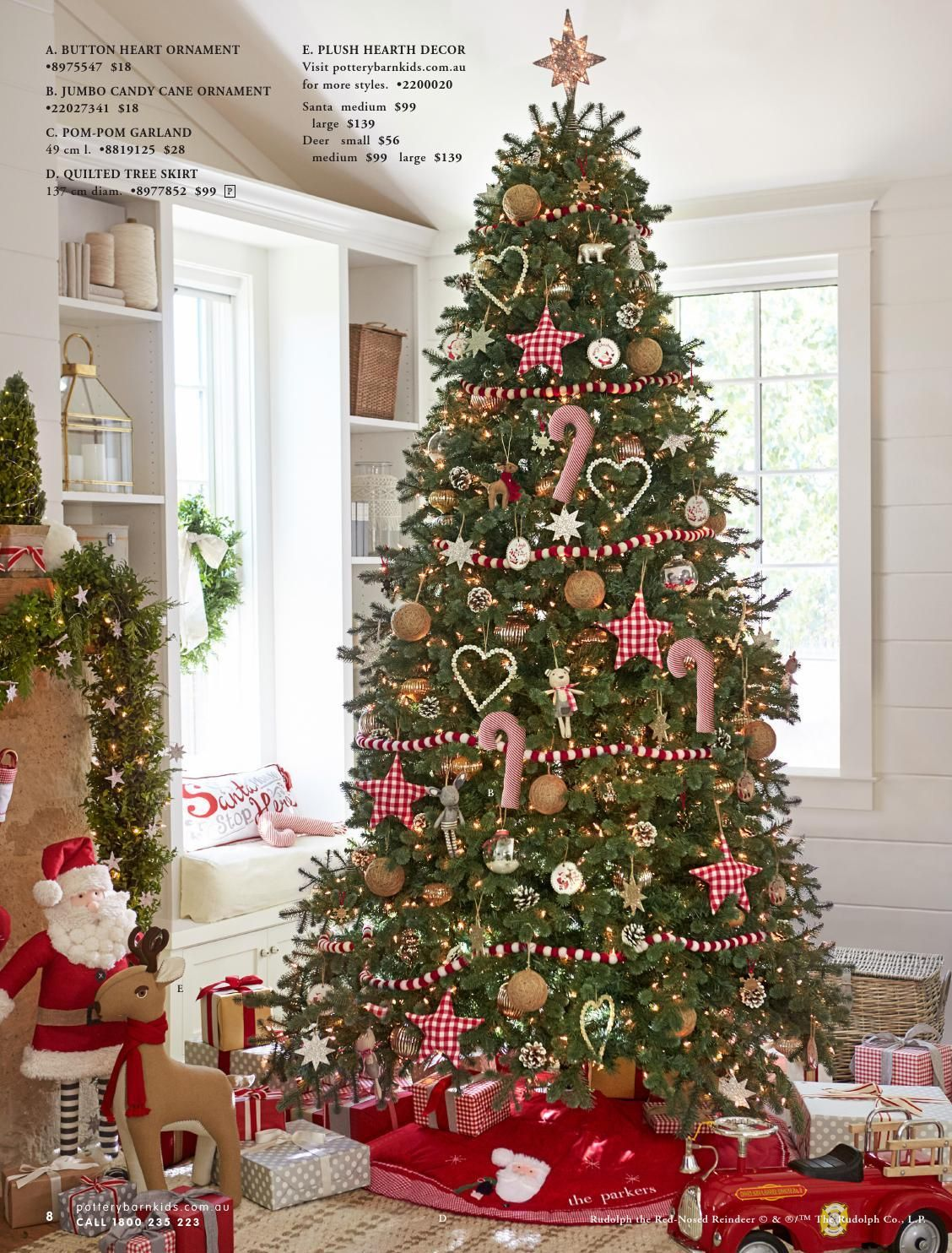 Pottery Barn Kids Australia Christmas Catalogue 2015 Christmas Tree Themes Christmas Tree Inspiration Front Door Christmas Decorations