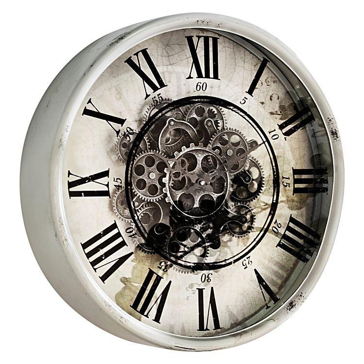 Carlton Moving Mechanism Wall Clock, 50cm by Phil Bee