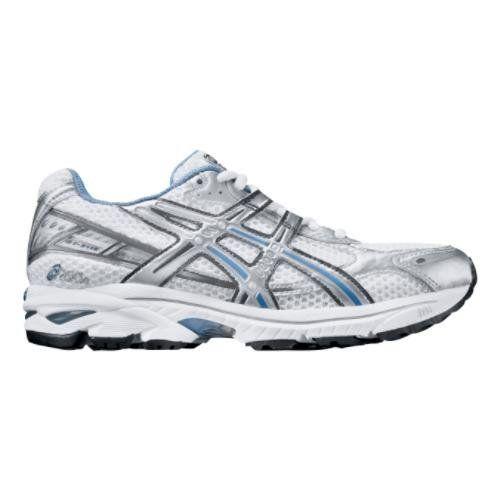 Womens ASICS GT-2110 Running Shoe, Color:White/Peri, 8.5 B ASICS ...