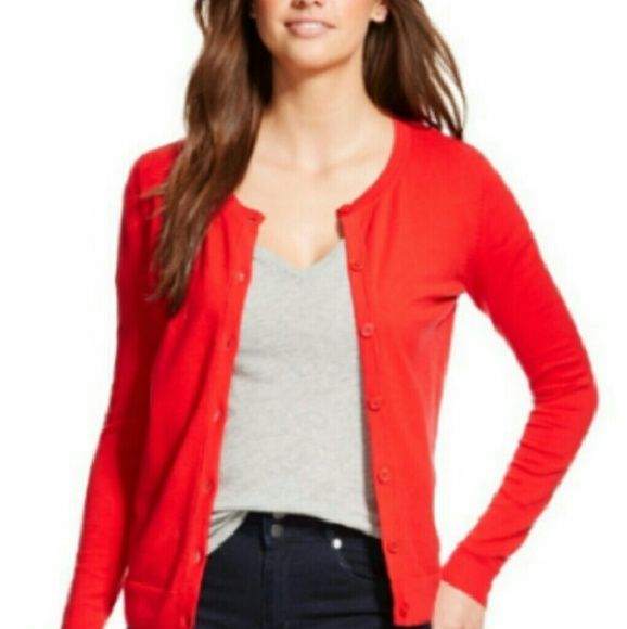 Red cardigan | Sweater cardigan, Forever 21 and Cardigans