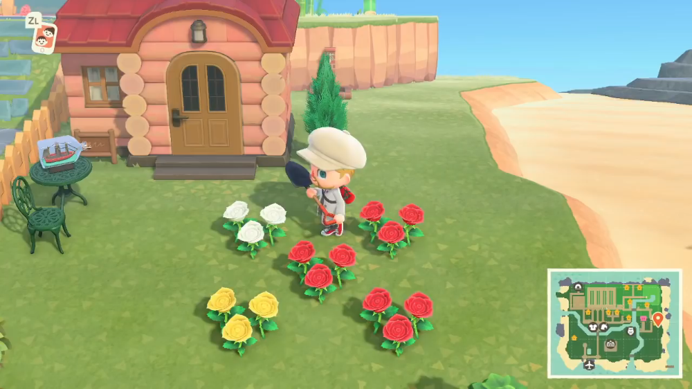 How To Breed Flowers In Animal Crossing New Horizons In 2020 Red And White Roses Animal Crossing List Of Flowers