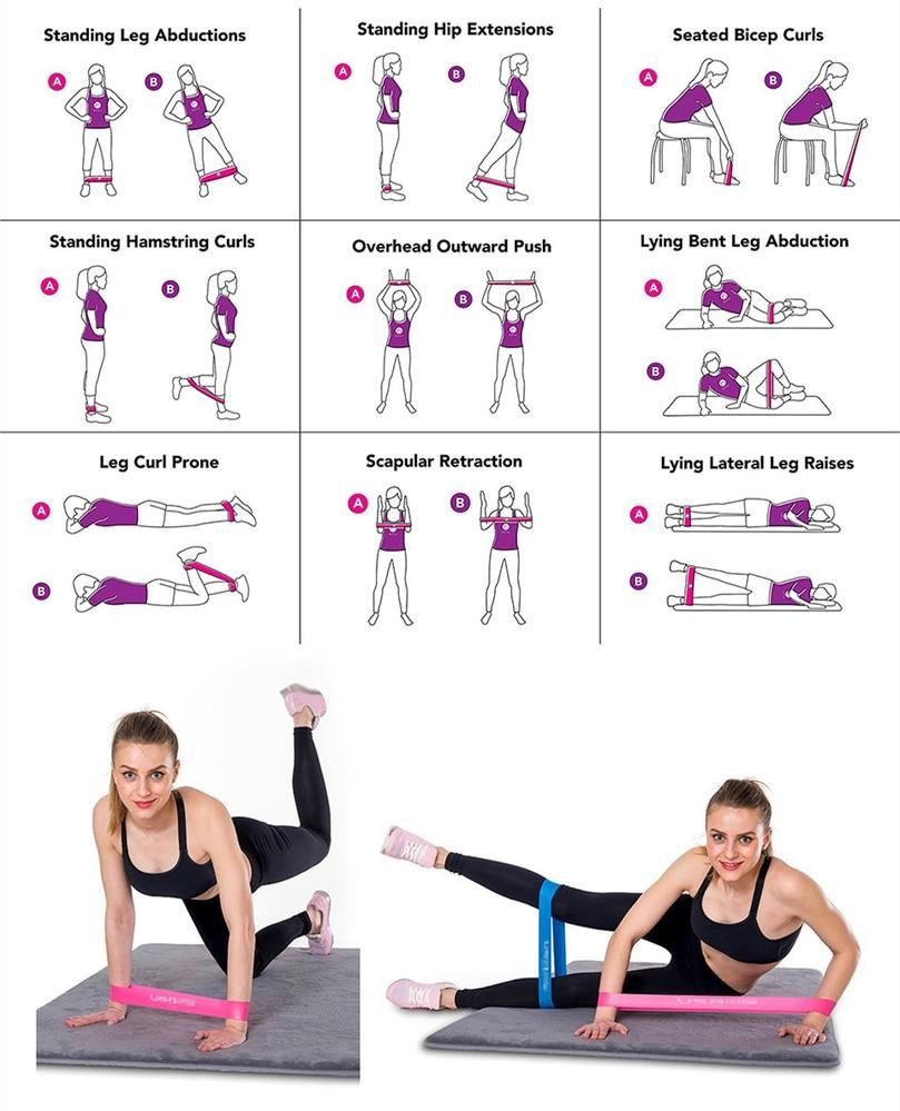 Fitness Training Resistance Bands