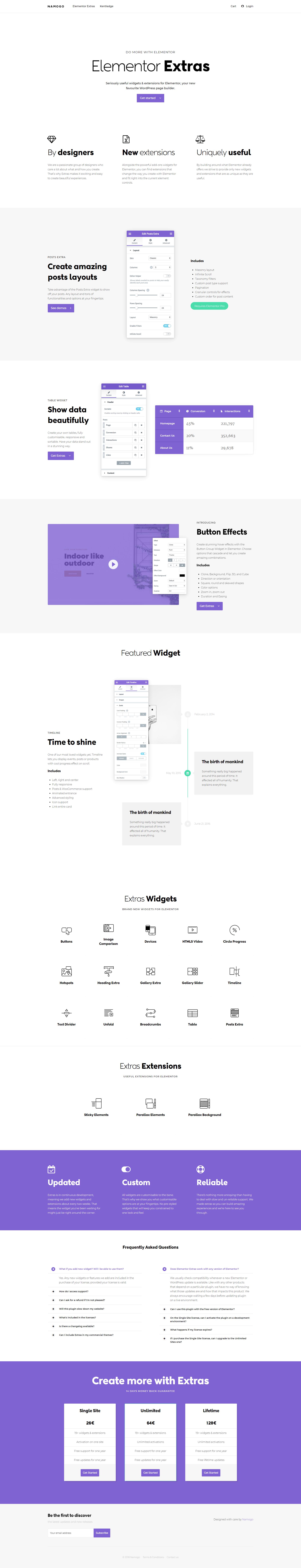 shop namogo com elementor-extras 01 | Web Design 2018 | Web