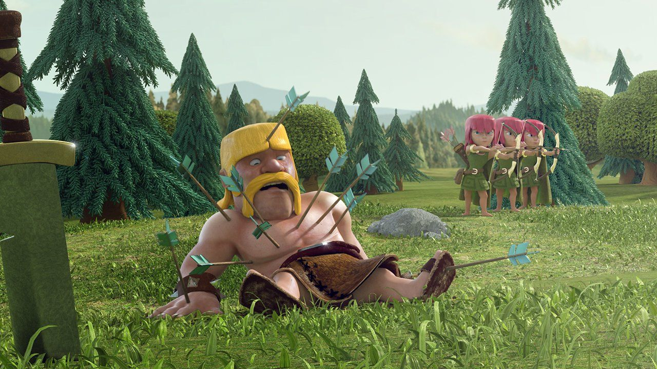 Clash of clans nudity, super sexgerl