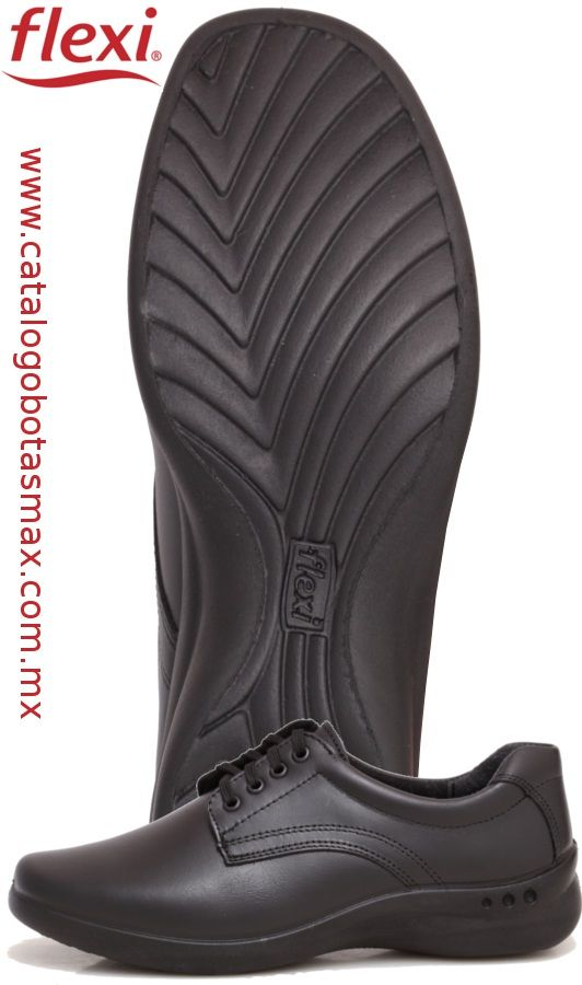 7e690b1196 #zapatos #cómodos para #mujer en color negro marca #flexi. estilo 48304