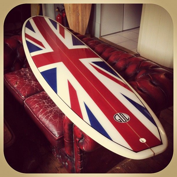 08003781b79c8 Union Jack surfboard by Gul surfboards. This design was made famous by  British Surfer Rodney Sumpter in 1966 at the world surfing championships in  San Diego ...