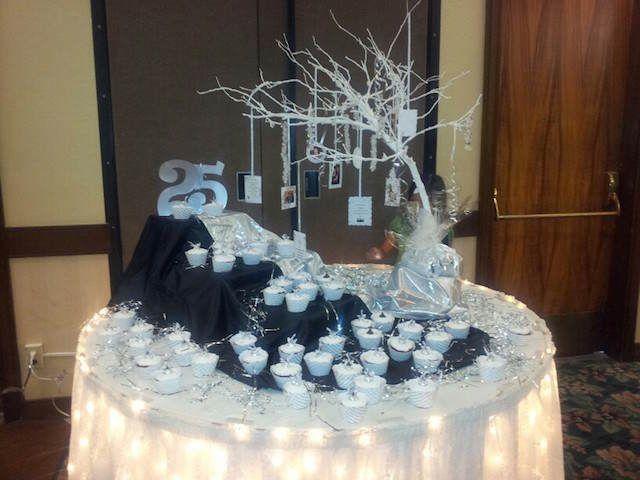 Resultado de imagen para decoracion de mesa para 25 for Decoracion 40 aniversario de bodas