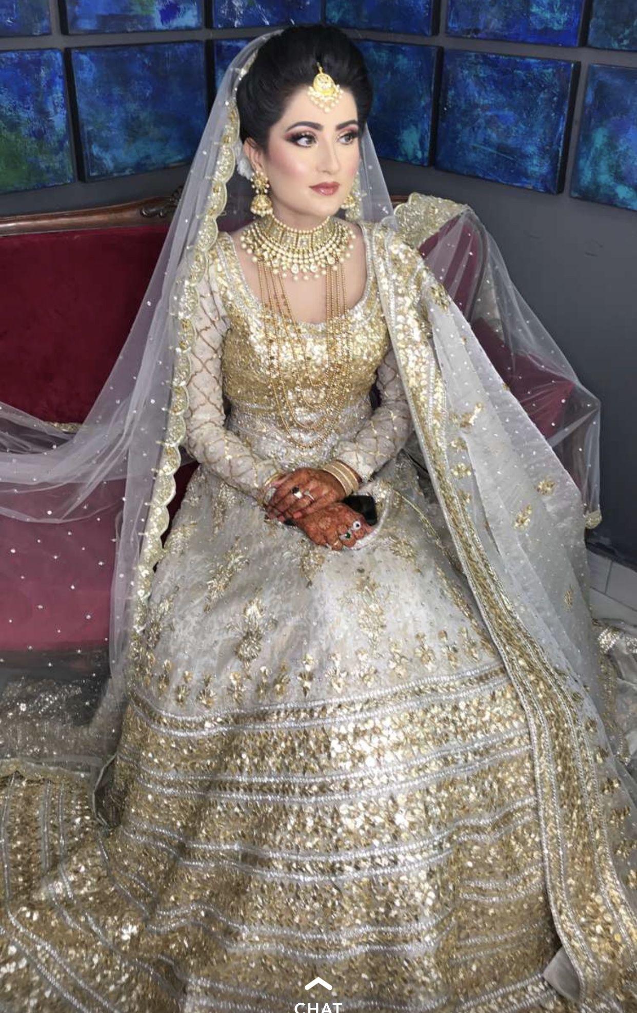 Valima bride (With images) Pakistani bridal dresses