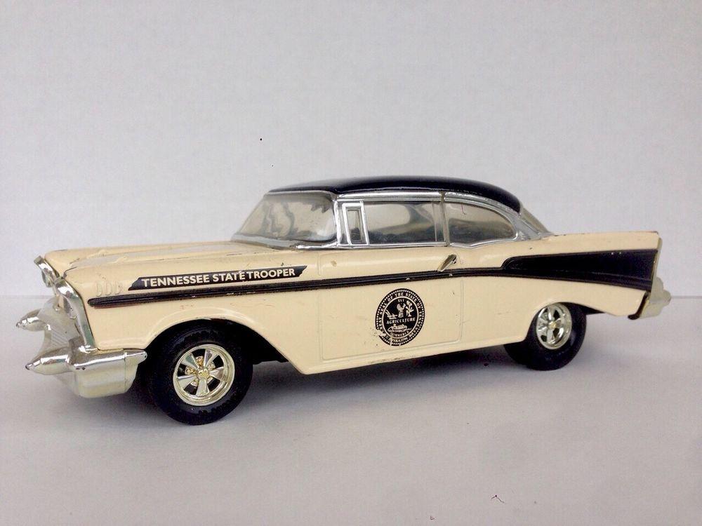 Ertl Die Cast Bank Tennessee State Trooper 1957 Chevy 210 Series