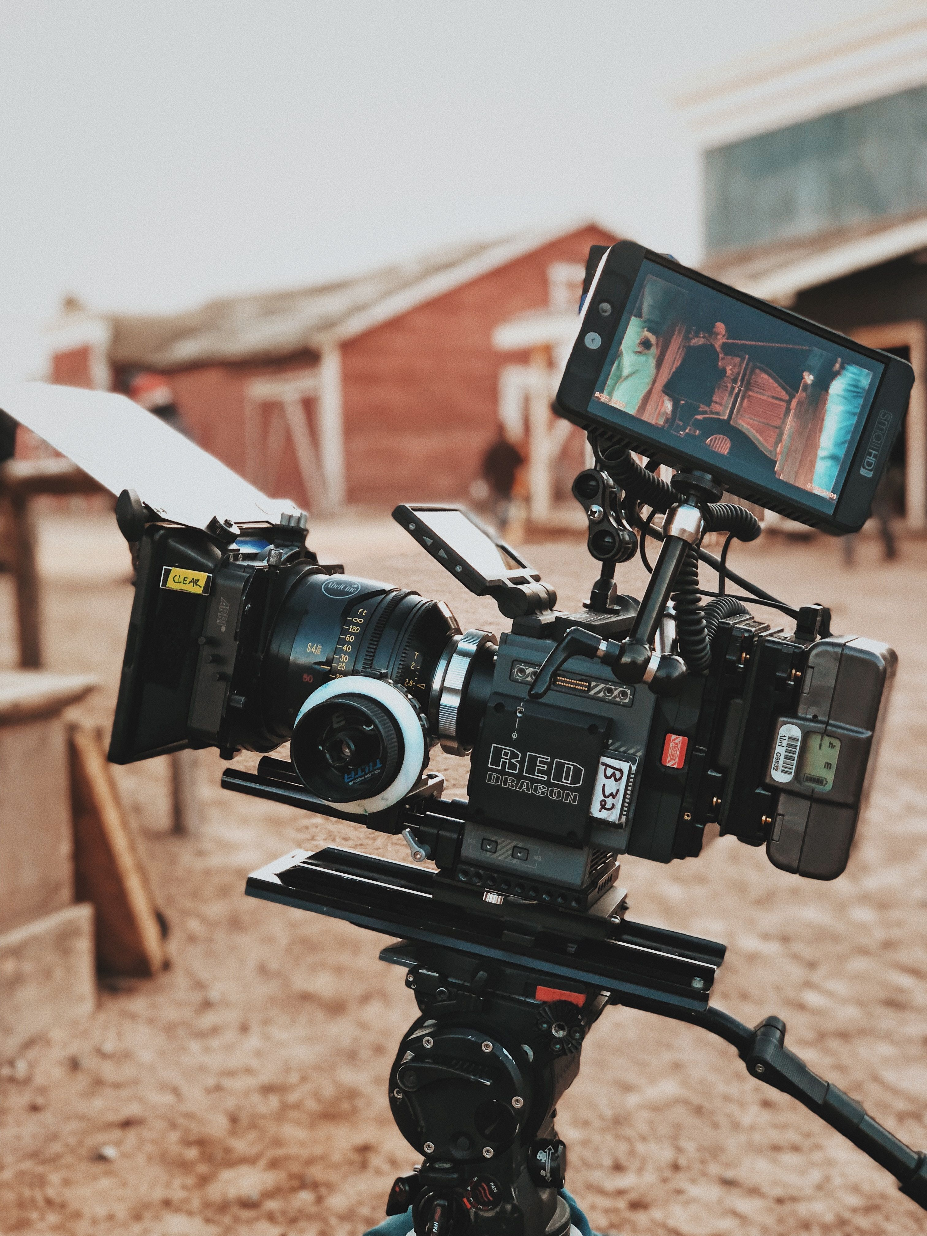 Santa Fe United States Camera Filming A Brown Structure Apple Iphone X 0d0e0e With Images Videography Film Stock Images Free