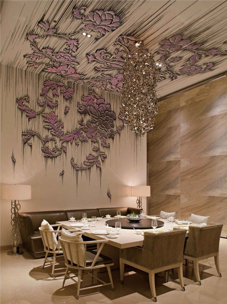 Yan Yu Restaurant Located In W Hotel Guangzhou China