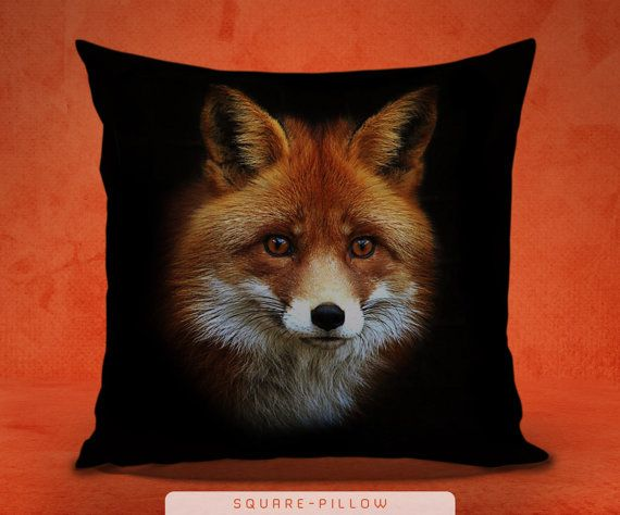 Good Brown Fox Pillow Cover Fox Pillow 3D Pillow Gothic By KOKONOKI Design Ideas
