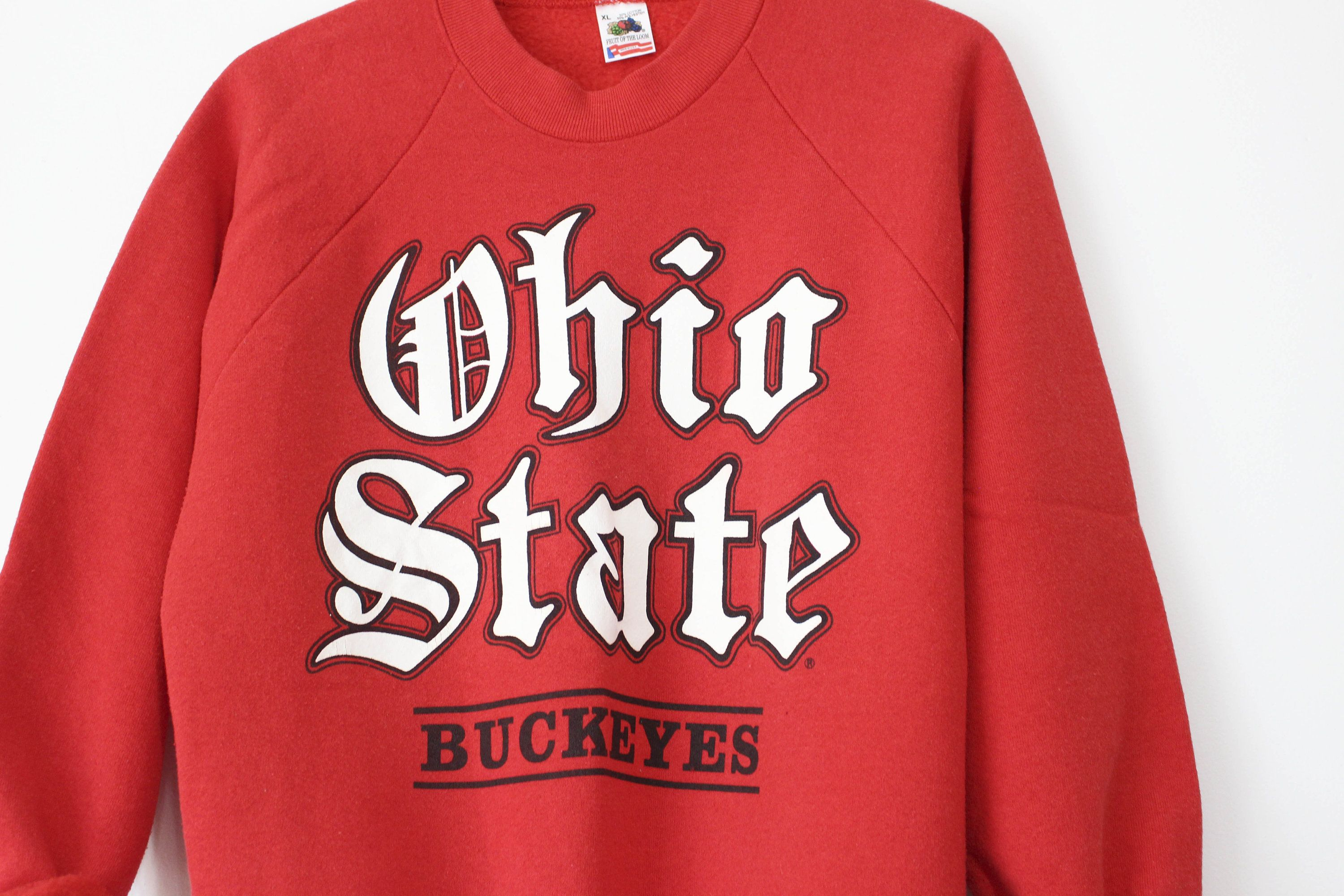 Items similar to Vintage Ohio State Buckeyes Sweatshirt on Etsy