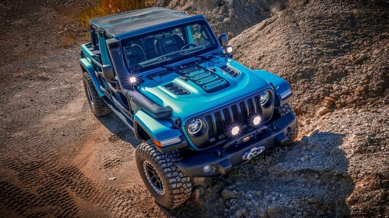 2019 Jeep Wrangler concept by Mopar for SEMA For Teens