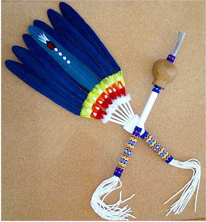 Peyote Flat Fan Peyote Feather Fans Pinterest Fans