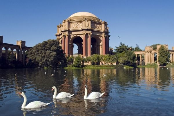 The 50 Most Romantic Places In The United States Palace Of Fine Arts Most Romantic Places Romantic Places