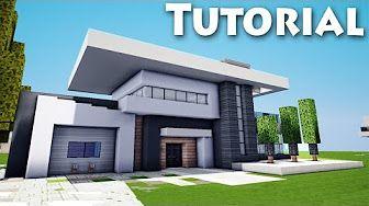 Minecraft Modern House Garage 7